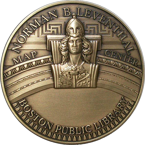 Boston Library Medal - High Relief Bronze, 3'' - Design by Micahel Berman