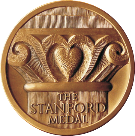 Stanford University Medal - High Relief Bronze 3''